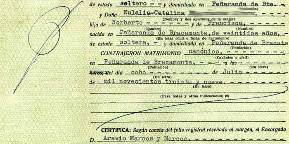 Certificado de Matrimonio - Solicitar certificado - Registro Civil ...