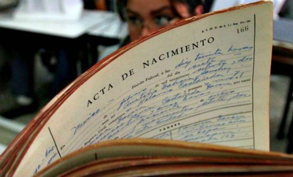 certificado de nacimiento en Sevilla